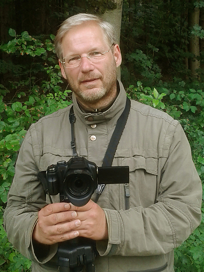 Portrait von Emil Jenne, Inhaber Verlag Mensch und Gedanke